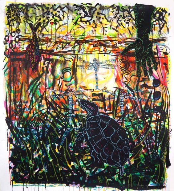 Artwork by Texas artist Jules Buck Jones