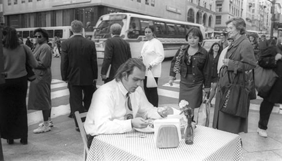 Pancho López's -Meal at 34th St and 6th Avenue-1998