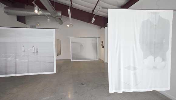 exhibition by Tomiko Jones at Art League Houston