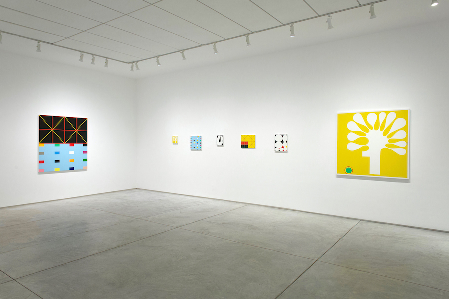 """Installation view of Cary Smith's solo exhibition """"Like Ripples on a Blank Shore"""" at Inman Gallery, Houston, 2020"""