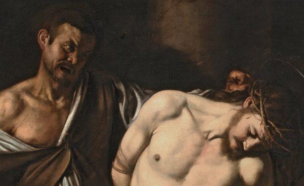 Caravaggio, The Flagellation of Christ (det.), 1607.