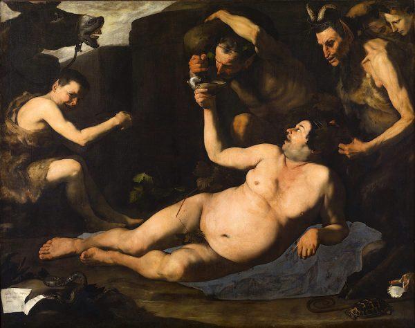 Jusepe de Ribera, Drunken Silenus, 1626.