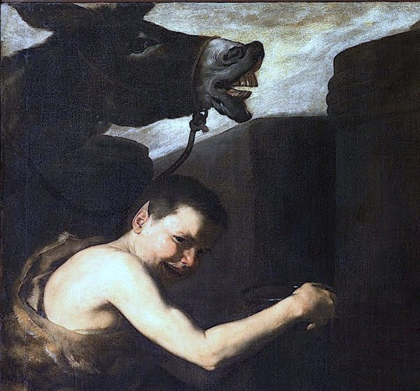 Jusepe de Ribera, Drunken Silenus (det.), 1626.