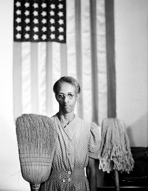 American Gothic, Gordon Parks, from a video slideshow of The Black Photography Annual volumes 1 - 4