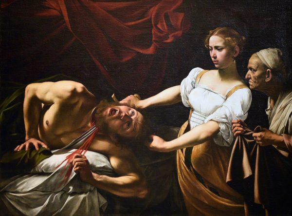 Caravaggio, Judith Beheading Holofernes, c. 1598-9 or 1602.
