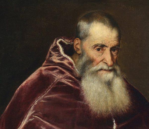 Titian, Pope Paul III (det.),1543.