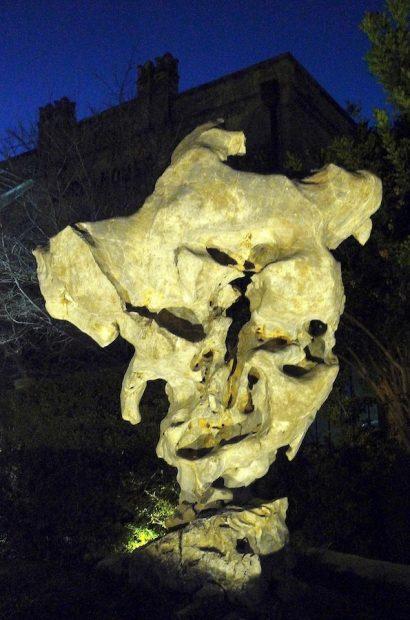 Taihu Rock at night, SAMA.