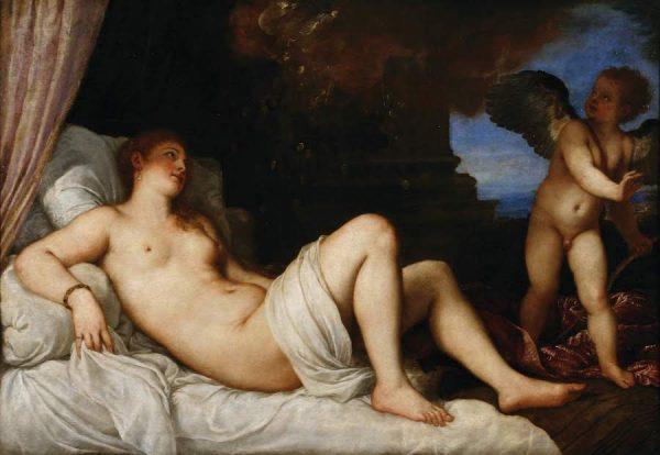 Titian, Danaë, 1544–45.