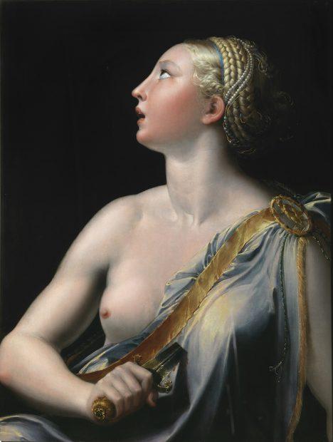 Parmigianino, Lucretia, 1540.