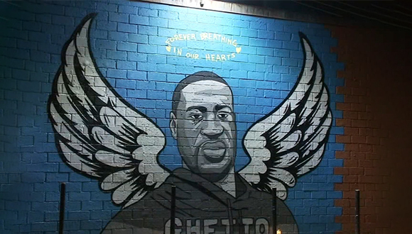 A-Mural-by-Donkey-Boy-and-Donky-Mom-in-Houston's-3rd-Ward-Honoring-George-Floyd