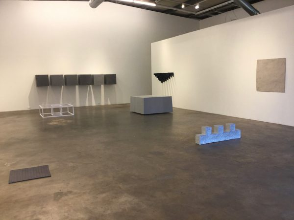 "Installation view of Tino Ward's ""After 10"" at ex ovo, Dallas."