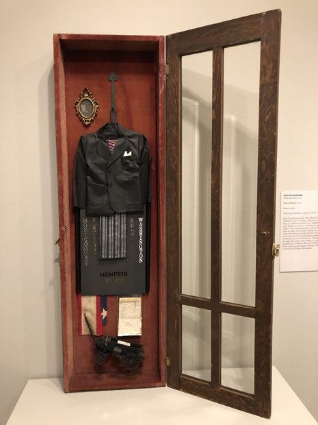 About Martin, Mixed Media, 1975, The George Economou Collection