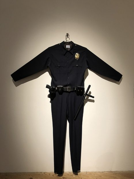 Chris Burden, in collaboration with the Fabric Workshop and Museum in Philadelphia. L.A.P.D. Uniform, 1993