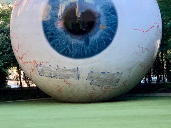 Dallas eyeball public art
