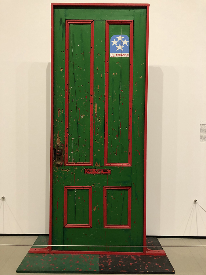 Fred Hampton's Door II, 1974, by Dana C. Chandler-Photo Credit-Christopher Blayjpg