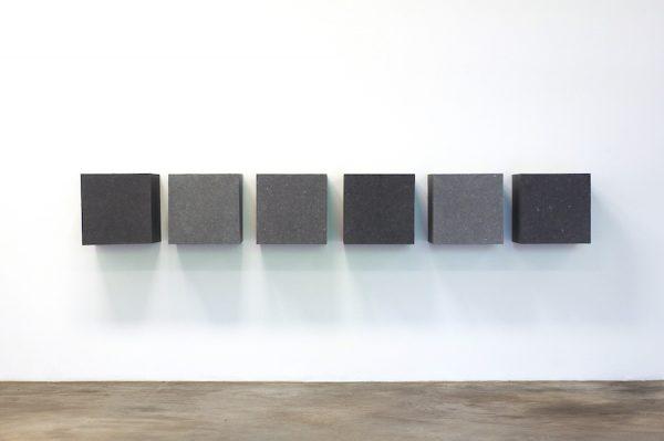 Tino Ward, Untitled (after Donald Judd), 2020.
