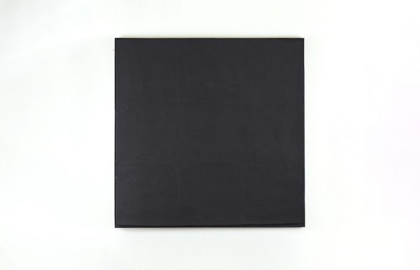Tino Ward, Ultimate Painting #39 (after Ad Reinhardt), 2020.