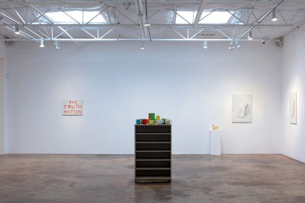 Installation view, Francesca Fuchs at Talley Dunn Gallery, 2020
