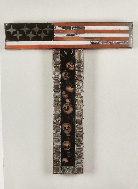 Traditional Hangup, Containment Series, 1969. Mixed Media. John Outterbridge, American, born 1933,Courtesy Tilton Gallery, NewYork
