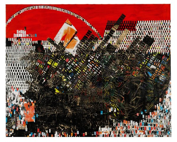 Scorched Earth, Mark Bradford, 2006