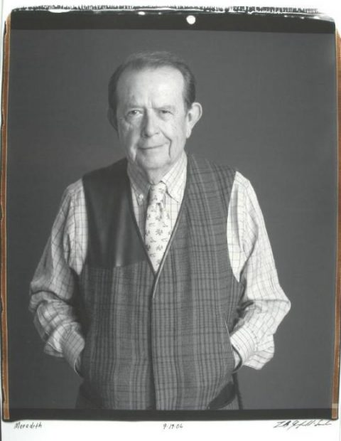 photograph of Houston art collector and philanthropist Meredith J. Long