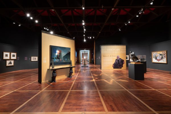 Installation view of Robert L. B. Tobin: Collector, Curator, Visionary