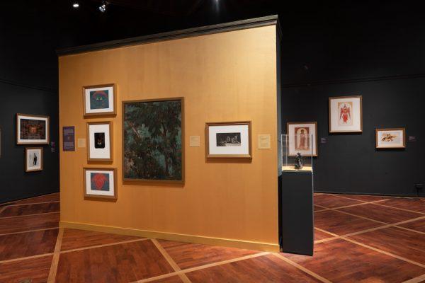 Installation view of 'Robert L. B. Tobin: Collector, Curator, Visionary,' at the McNay Art Museum, San Antonio