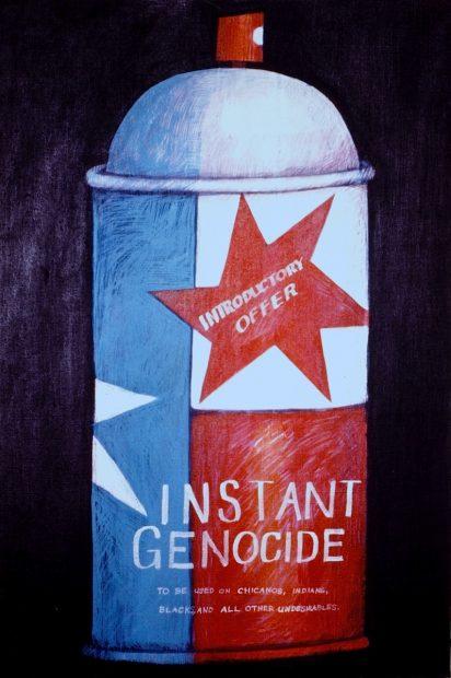 Felipe Reyes (b. 1944), Instant Genocide, c. 1971
