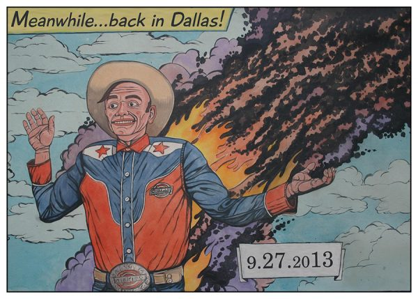 Brian Keith Jones, Meanwhile… Back in Dallas, 2013.