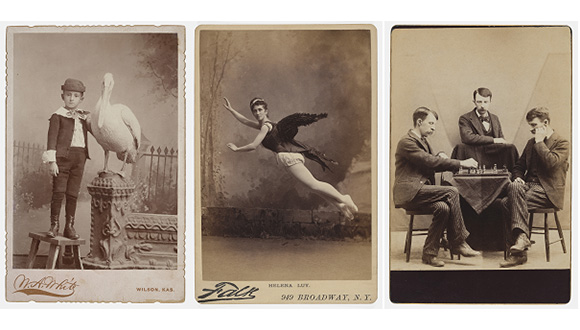 Cabinet-cards-from-Amon-Carter-Museum's-Acting Out- Cabinet Cards and the Making of Modern Photography