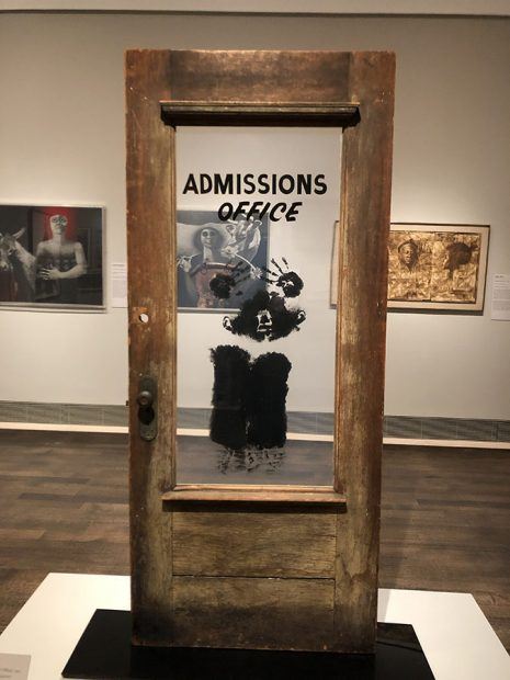 """David Hammons """"Door, 1969."""""""