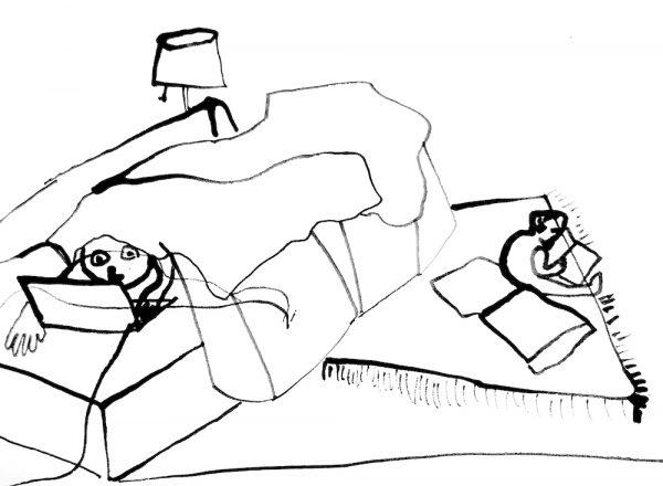 Drawing my Megan Hildebrandt.