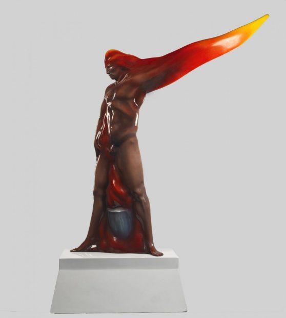 Luis Jiménez, Man on Fire, 1969