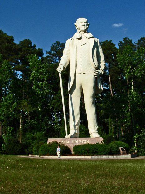 Sam Houston Statue, Huntsville, TX