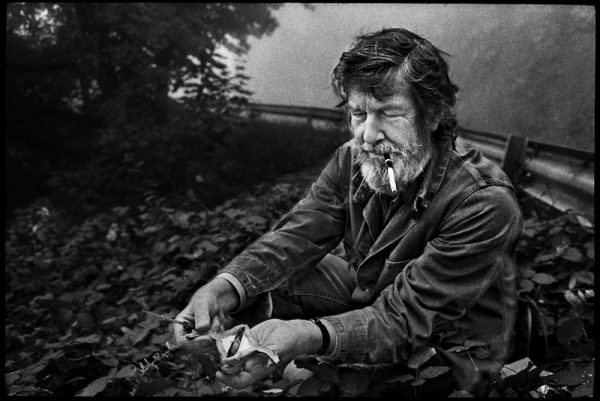 Cage Foraging in Grenoble, France, 1971