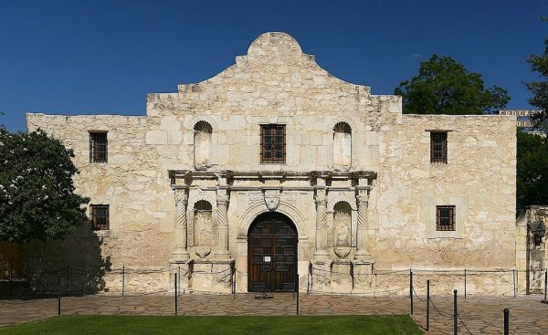 The Alamo Church building, from Wikipedia