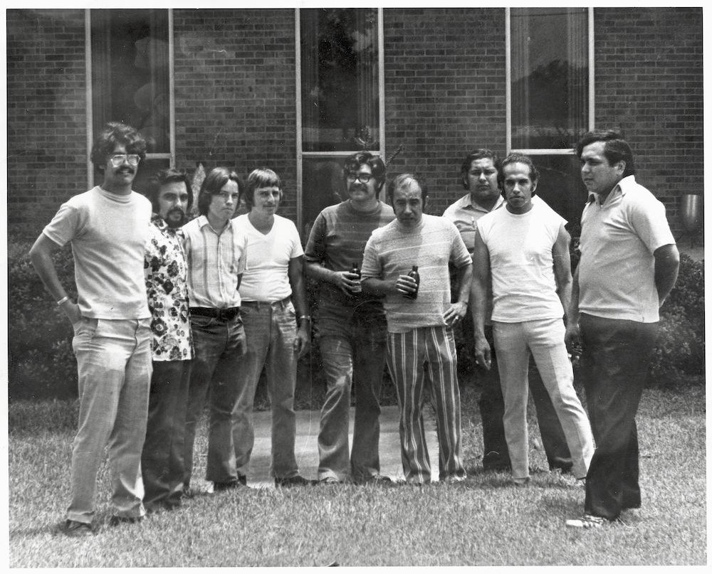 Con Safo group photograph, summer 1972.