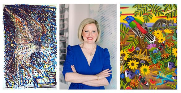 Collecting the Texas Landscape- Q&A with art advisor Jennifer Klos and artists Jules Buck Jones and Billy Hassell online August 7 2020