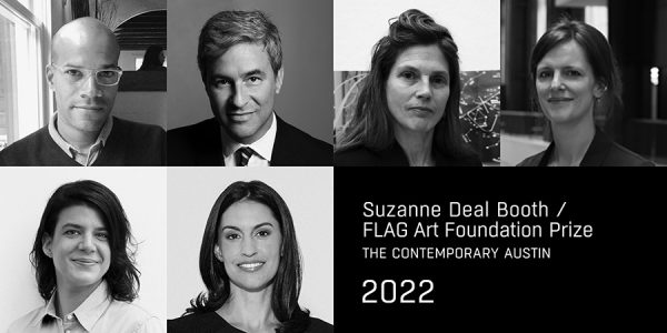 Darby English, Michael Govan, Ingrid Schaffner, Catherine Wood, Heather Pesanti, and Stephanie Roach-Jurors fo the Suzanne Deal Booth_FLAG art Foundation prize for 2022