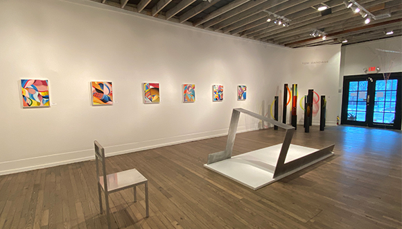 Foltz Fine Art exhibition in Houston Texas