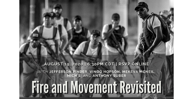Jefferson Pinder- FIRE AND MOVEMENT REVISITED from DiverseWorks in Houston August 19 2020