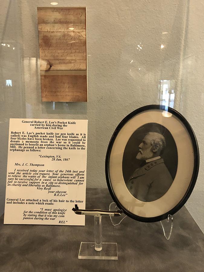 Robert E. Lee's Pocket Knife-Texas-Civil-War-Museum-White-Settlement-TX