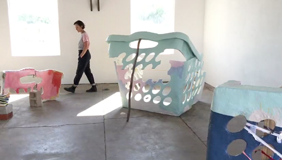 artist Ester Partegàs, No Retention at Pure Joy Marfa
