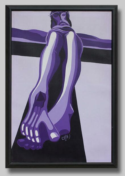 "Benini, ""Purple Christ,"" 1970."
