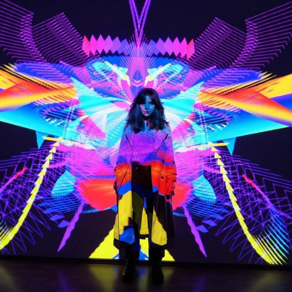 Symbiosis, from Moscow-based Kuflex, at Hopscotch, San Antonio
