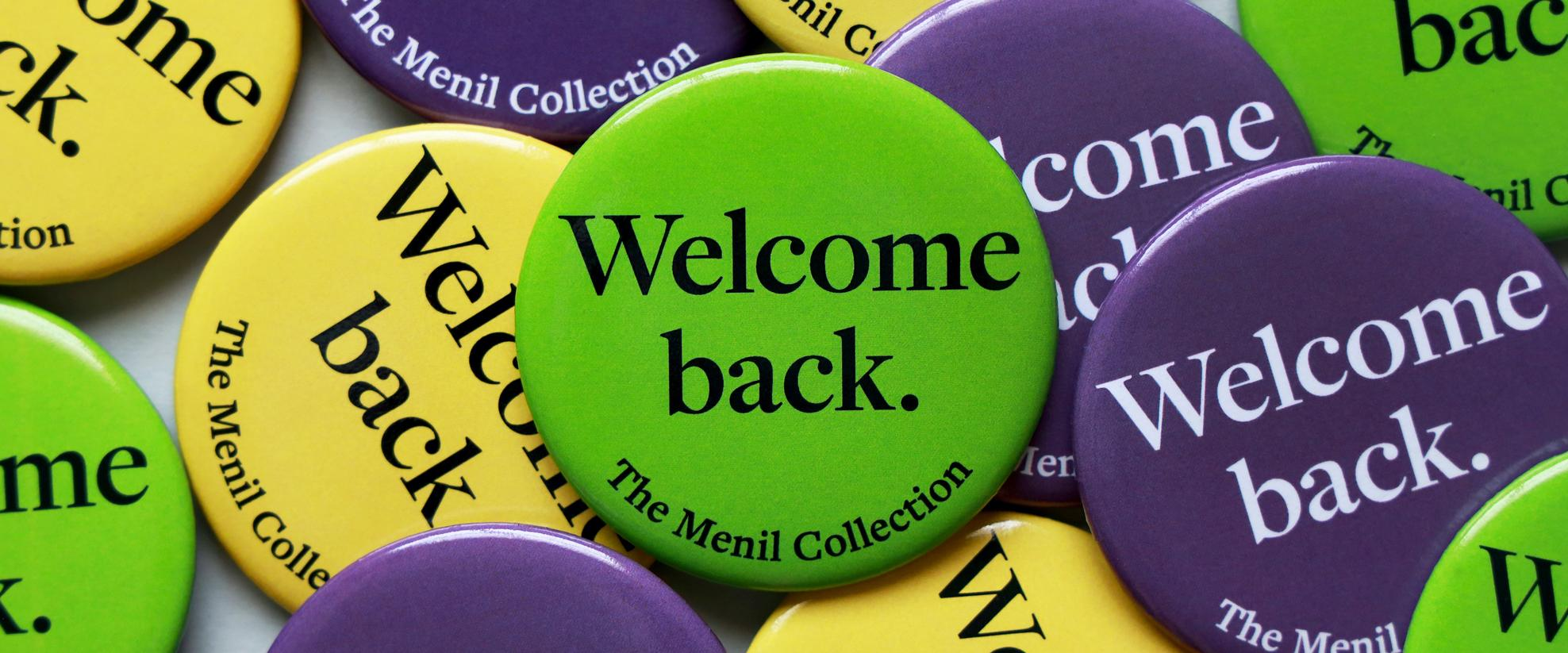 The Menil Collection welcomes back visitors, September 12, 2020.