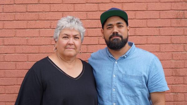 "Arts in the Community Award recepients Alejandro ""Alex"" Roman Jr. and Sylvia Roman, a.k.ak. Donkeyeeboy and Donkeemom"