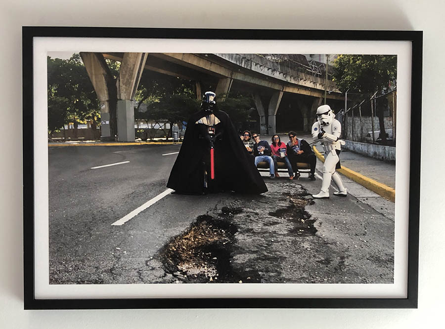 Caricuao Wars, 2009, Caracas Emmental series, Violette Bule