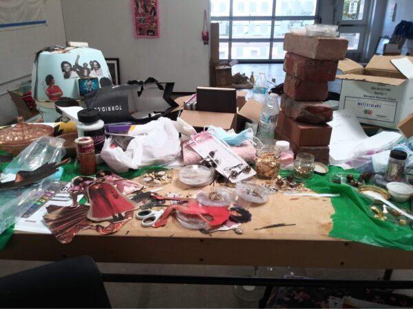 Studio of Artist Danielle Demetria