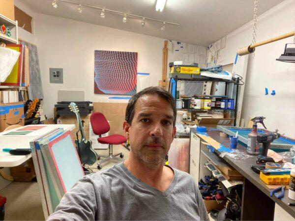 Artist Greg Bahr